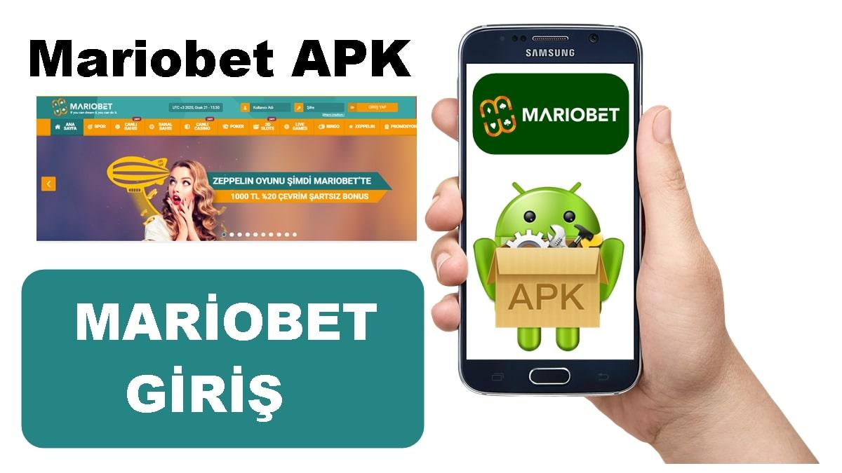 Mariobet apk android